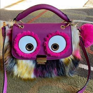 ALDO Adorable Faux fur Wide eye bag💜